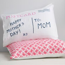 Postcard Pillow, medium