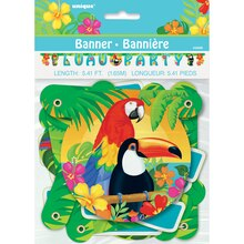 Tropical Island Luau Banner, Packaging