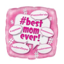 Foil Best Mom Ever Happy Mother's Day Balloon, 18""