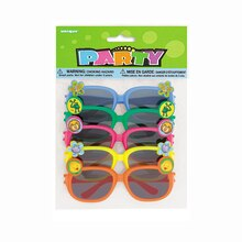 Animal Novelty Glasses Party Favors, Assorted 5ct
