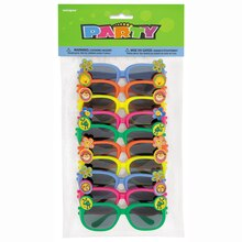Animal Novelty Glasses Party Favors, Assorted 10ct