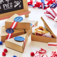 Patriotic Pie Carrier, medium