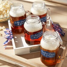Patriotic Mason Jar Mugs, medium