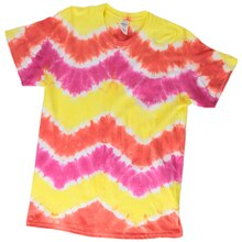 Chevron Tie Dye T-shirt, medium