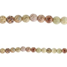 Bead Gallery Carved Round Soapstone Beads