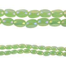 Bead Gallery Opaque Glass Beads, Green