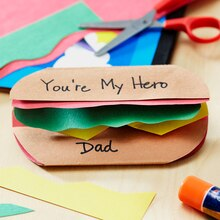 Kids Club® Father's Day Hero Card, medium