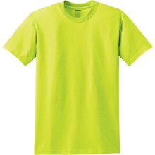 Gildan Short Sleeve Youth T-Shirt, X Large, Safety Green