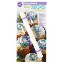 Wilton I Taught Myself to Decorate Cupcakes with Fondant Decorating Book Set