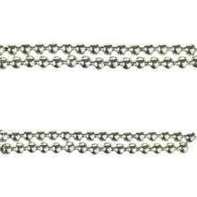 Bead Gallery Round Metal Beads, Silver