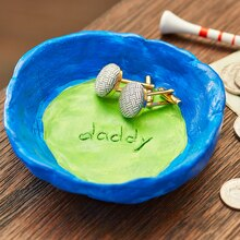 Father's Day: Daddy Clay Dish, medium