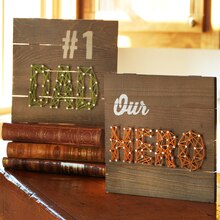 Father's Day: #1 Dad String Art, medium