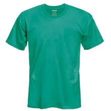 Gildan Short Sleeve Adult T-Shirt, X Large, Antique Heather Jade