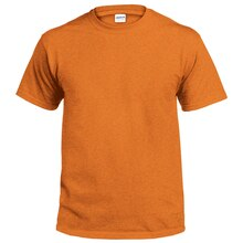 Gildan Short Sleeve Adult T-Shirt, Small, Sunset