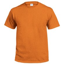 Gildan Short Sleeve Adult T-Shirt, Large, Sunset