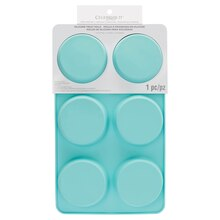 Flat 6-Cavity Silicone Treat Mold by Celebrate It