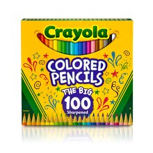Crayola The Big 100 Colored Pencils