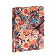 Bright Paisley Journal with Button by Artist's Loft