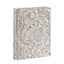 White Paisley Doodle Journal by Artist's Loft