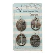 Oceanside Hope & Anchor Charms by Bead Landing