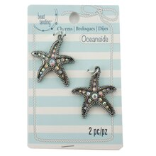 Oceanside Gem Starfish Charms by Bead Landing