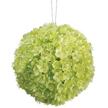 "4"" Viburnum Kissing Ball, Lime"