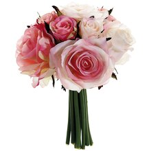 "9"" Confetti Rose Bundle, Pink"