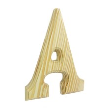 "6"" Unfinished Wood Letter By ArtMinds, A"
