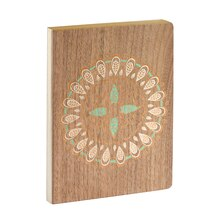 Wood Print Journal By Artist's Loft