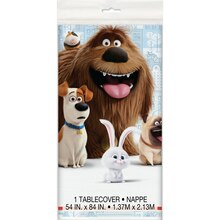 "Plastic The Secret Life of Pets Tablecloth, 84"" x 54"""