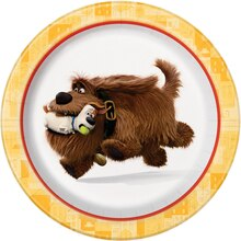 "7"" The Secret Life of Pets Party Plates, 8ct"
