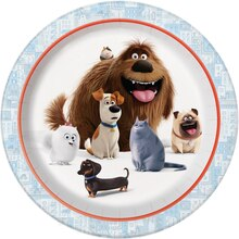 "9"" The Secret Life of Pets Party Plates, 8ct"