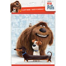 The Secret Life of Pets Goodie Bags, 8ct