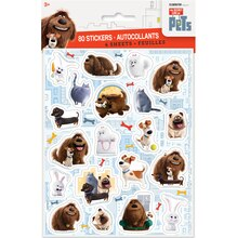 The Secret Life of Pets Sticker Sheets, 4ct