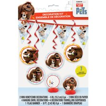The Secret Life of Pets Party Decorating Kit, 7pc, Packaging