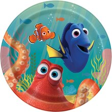 "7"" Finding Dory Party Plates, 8ct"