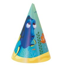 Finding Dory Party Hats, 8ct