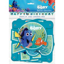 Finding Dory Birthday Banner, Packaging