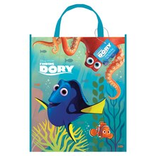 "Large Plastic Finding Dory Favor Bag, 13"" x 11"""