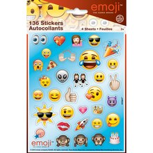 Emoji Sticker Sheets, 4ct
