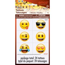 Emoji Tattoos, 24ct
