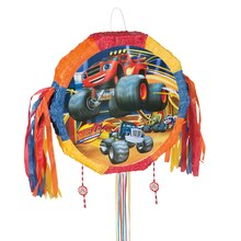 Blaze and the Monster Machines Pinata, Pull String