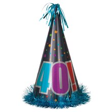 Jumbo Birthday Cheer 40th Birthday Party Hat