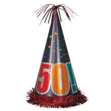 Jumbo Birthday Cheer 50th Birthday Party Hat