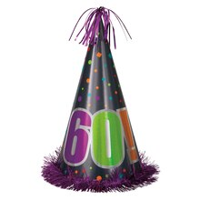 Jumbo Birthday Cheer 60th Birthday Party Hat