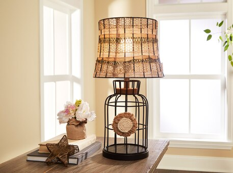 Ribbon weave wire lampshade greentooth Image collections