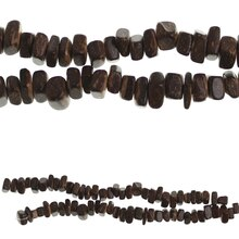 Bead Gallery Square Wooden Beads, Brown
