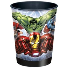 16oz Avengers Plastic Cups, 12ct
