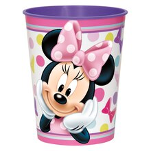 16oz Minnie Mouse Plastic Cups, 12ct
