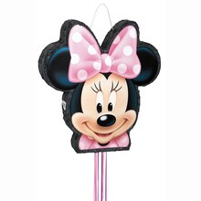 Minnie Mouse Pinata, Shaped Pull String
